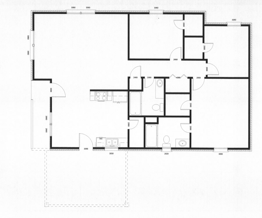 American Country House Floor Plans On American House Floor Plans